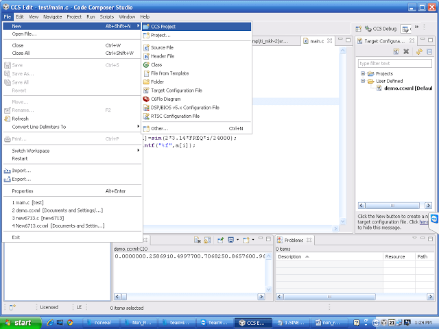 How To Configure and Run DSP Processor