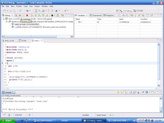 run dsp processor