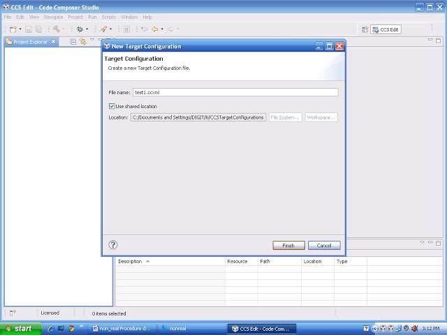 configure dsp processor